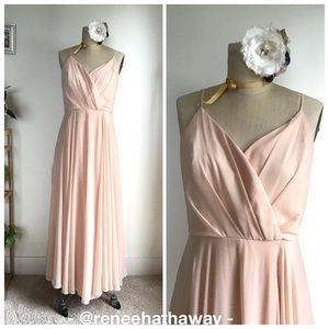 Lulu's Soft Blush Pink Bridesmaid/Mother of Bride
